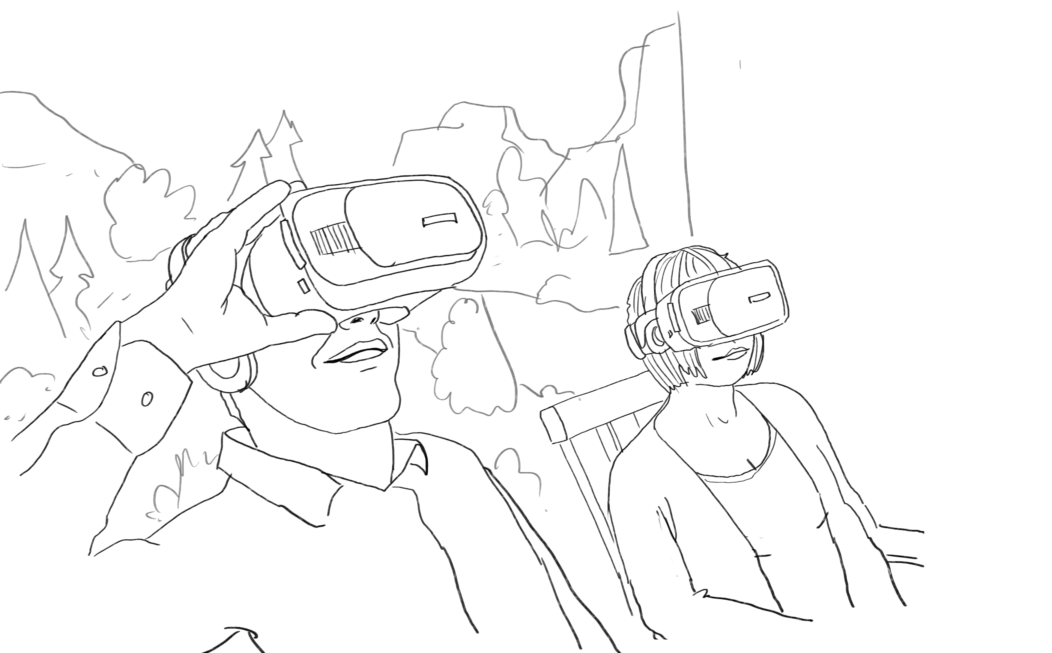 Mindfulness VR-experience