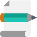 icoon pen en papier
