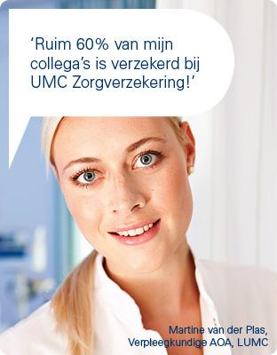 UMC Zorgverzekering premies